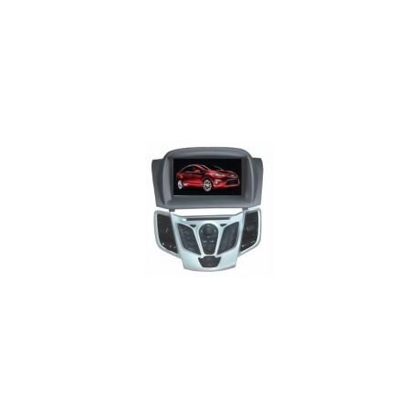 Sistem navigatie + DVD + TV pentru Ford Fiesta, model TTI 7938,