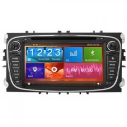 Dvd Auto Ford Focus Mondeo S-Max Navigatie GPS CARKIT TV Internet
