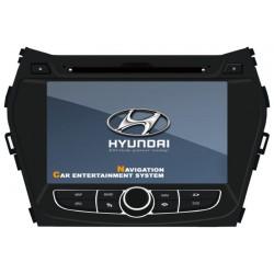 Navigatie Dedicata Hyundai NEW Santa Fe 2012 DVD AUTO GPS CARKIT INTERNET