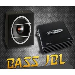 Pachet bass jbl cs1204b si ca 250