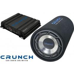 Pachet de Bass GPS250 + Crunch GPX500.2 + Cadou Stick 16GB`