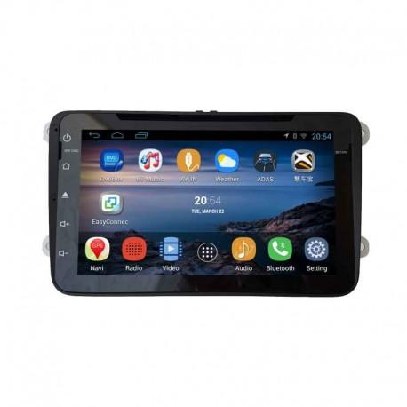dvd gps auto navigatie android ecran 8 inch volkswagen. Black Bedroom Furniture Sets. Home Design Ideas