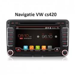 Navigatie dedicata VW cu android cs420