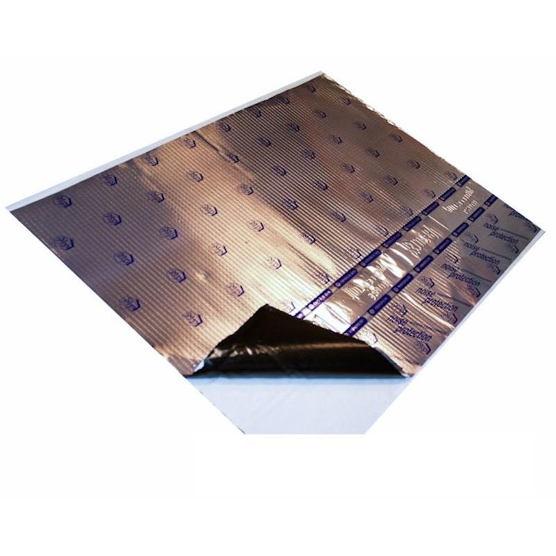 insonorizare auto de 2 mm folie de bitum cu aluminiu. Black Bedroom Furniture Sets. Home Design Ideas