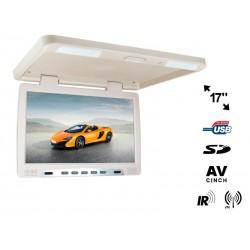 Monitor de plafon de 17 inch cu usb si sd card