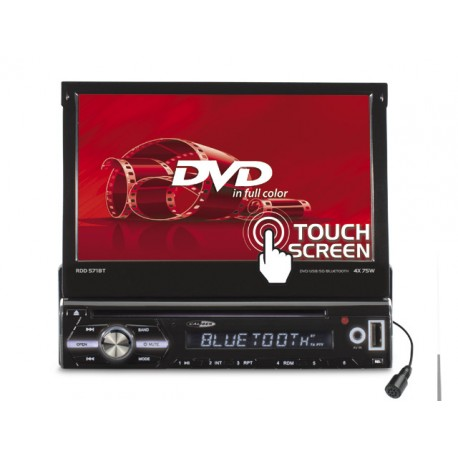 Caliber RDD571BT dvd auto 1din cu ecran motorizat