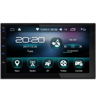 Navigatie 2din cu android, bluetooth, ecran capacitiv
