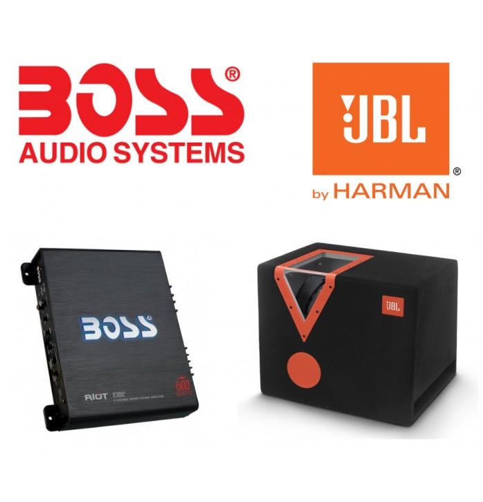 Bass JBL Boss Audio 1400w max