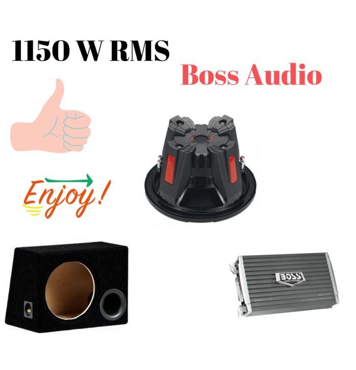 Pachet de bass Boss Audio 1150 w rms