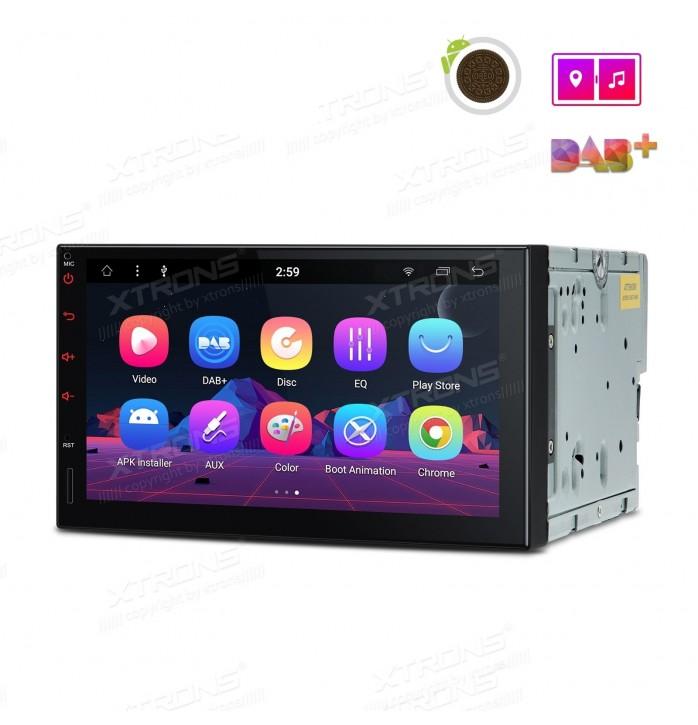 Navigatie 2din cu android 8, bluetooth, usb, wifi