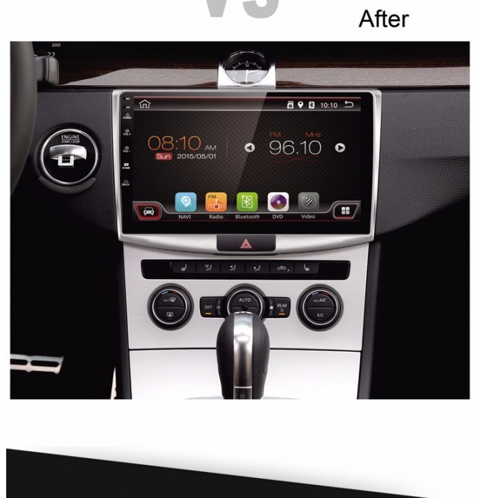 Navigatie android VW Jetta, Bora 2012 ecran de 9 inch
