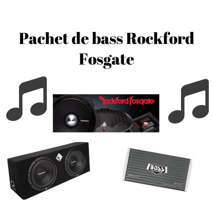 Pachet de bass Rockford x2