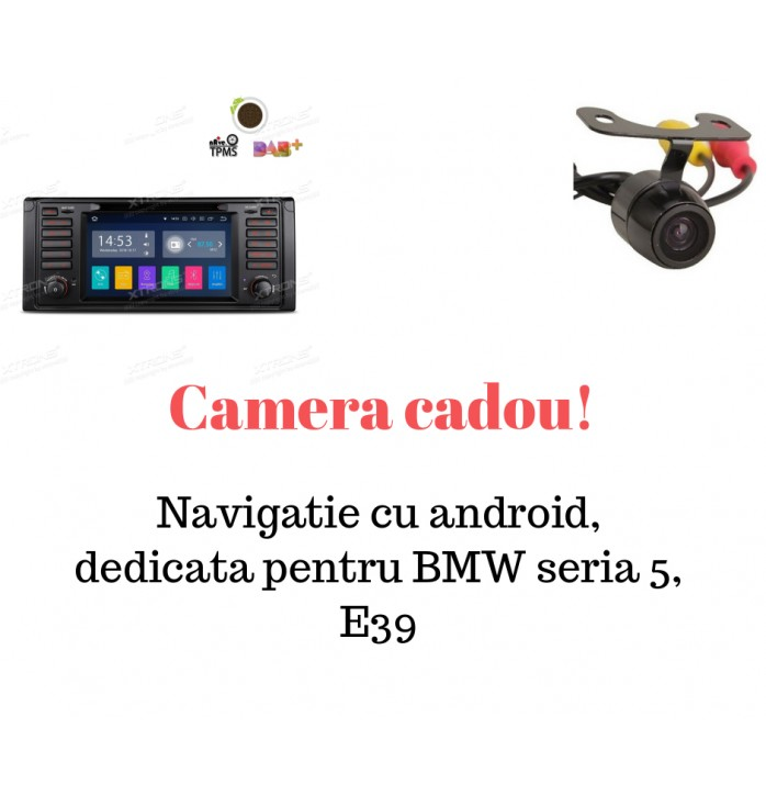 Navigatie cu android dedicata BMW E39