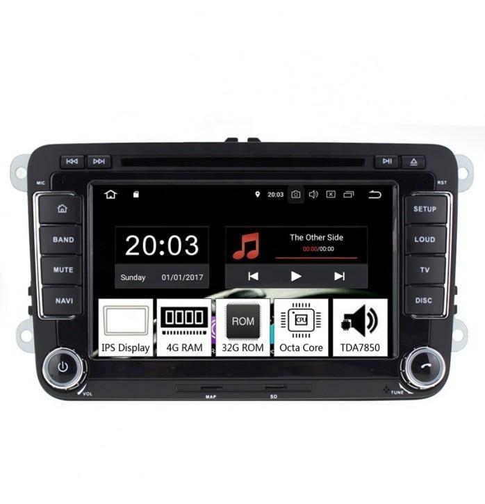 Navigatie android dedicata VW, 4Gb RAM, 32Gb ROM