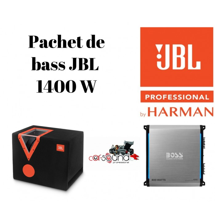 Pachet de bass JBL si Boss Audio