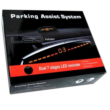 Sistem de parcare cu 2 senzori si display LED