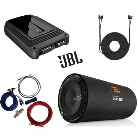 Pachet de bass JBL GT-X1250T + GX-A3001 + 350940 + 890152
