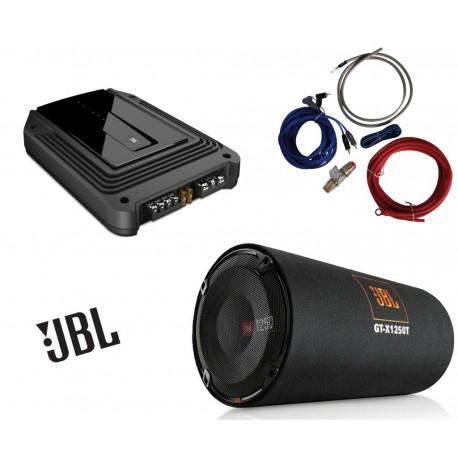 Pachet de bass JBL GT-X1250T + GX-A3001 + 350940