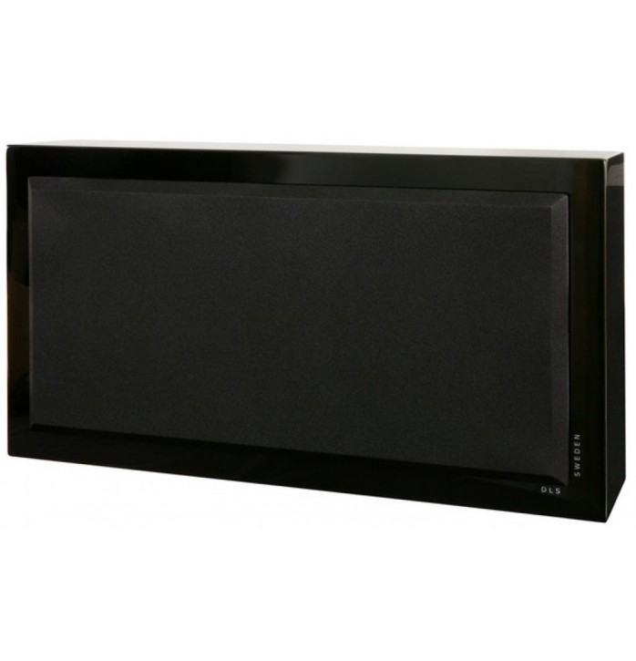DLS Flatsub Stereo One, Black piano