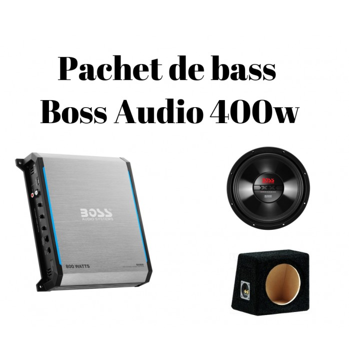 Pachet de bass Boss Audio 400w