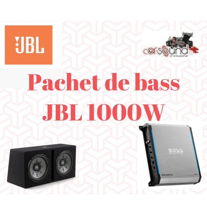 Pachet de bass JBL 1000w