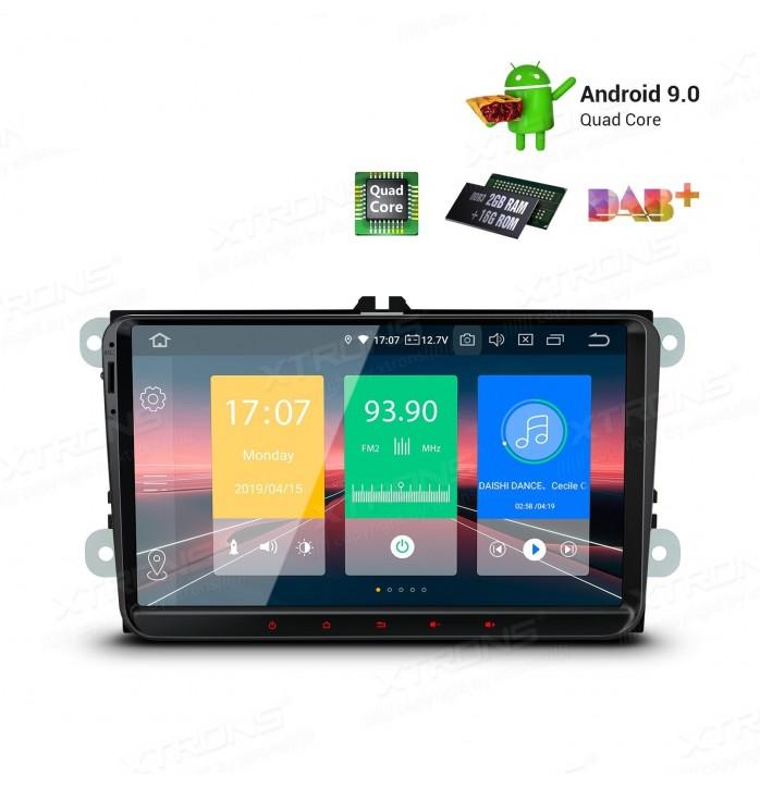 Navigatie android 9, ecran de 9 inch HD
