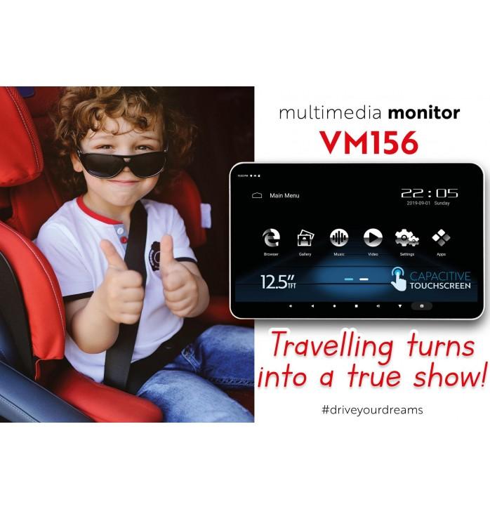 Phonocar VM 156 monitor de tetiera cu Android si HDMI