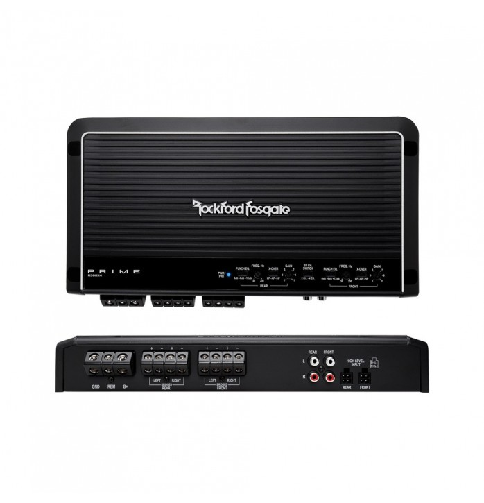 Rockford Fosgate R300x4 amplificator auto pe 4 canale