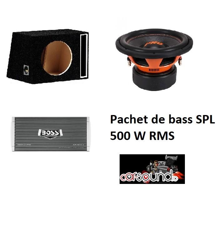 Pachet de bass 500 W RMS