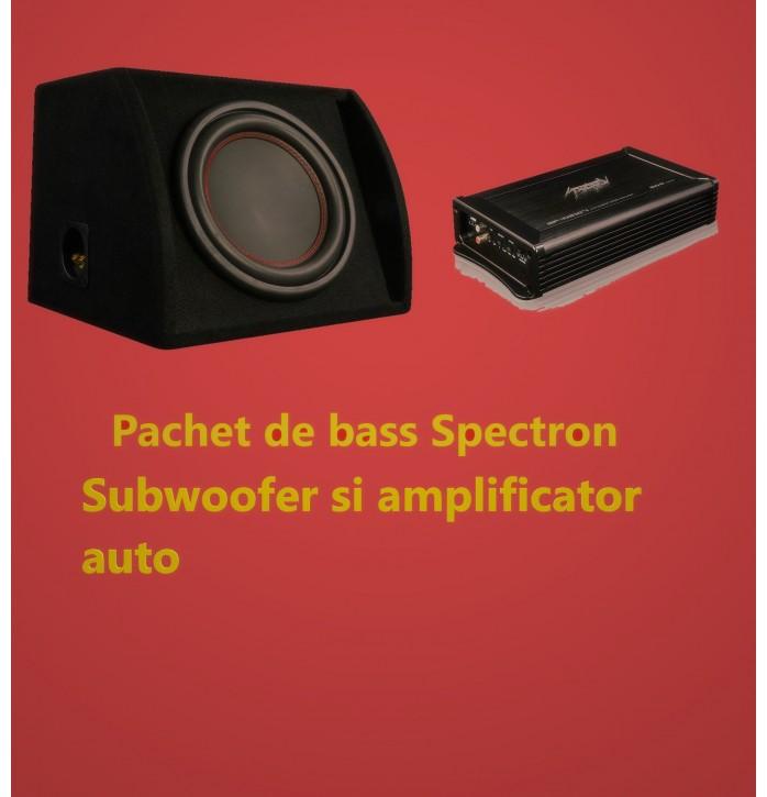 Pachet de bass Spectron200 W RMS